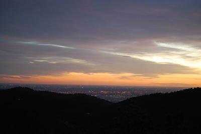 Gentle Sunrise Above Boulder Photo Poster