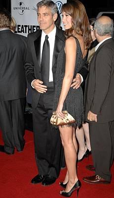 George Clooney, Sarah Larson Poster by Everett