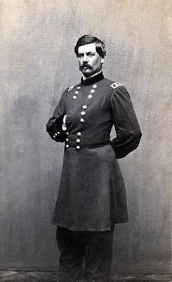George Mcclellan 1826-1885 In 1861 When Poster