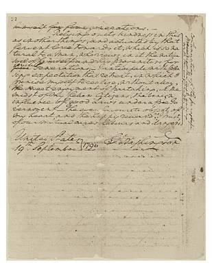 George Washingtons Farewell Address Poster by Everett