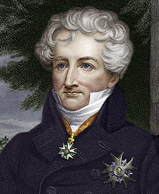 Georges Cuvier, French Zoologist Poster
