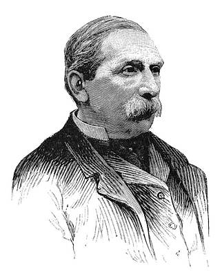 Georges Pouchet, French Naturalist Poster
