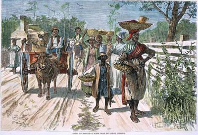 Georgia: Market, 1875 Poster by Granger