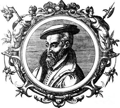 Georgius Agricola, German Scholar Poster