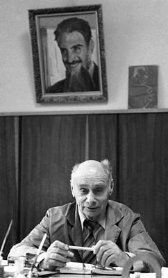 Georgy Flyorov, Soviet Nuclear Physicist Poster by Ria Novosti