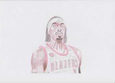 Gerald Wallace Poster by Toni Jaso