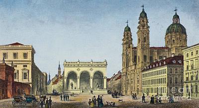 Germany: Munich, C1845 Poster by Granger