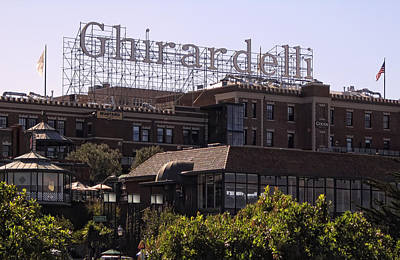 Ghirardelli Square In San Francisco Poster by Daniel Hagerman