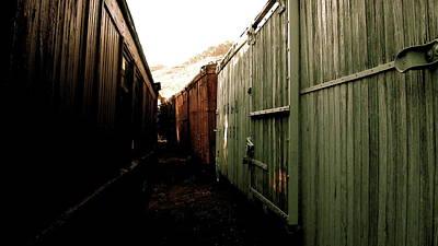 Ghost Train Yard Poster