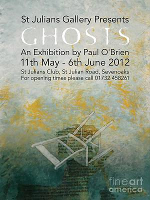 Ghosts Poster by Paul OBrien