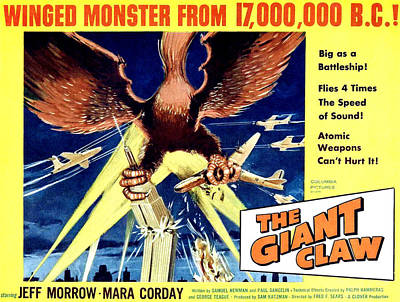 Giant Claw, The, 1957 Poster