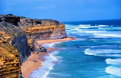 Poster featuring the photograph Gibson's Beach In Australia by Dennis Lundell