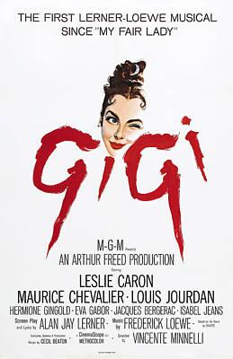 Gigi, Leslie Caron, 1958 Poster by Everett
