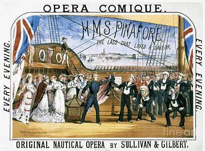Gilbert & Sullivan, 1878 Poster by Granger