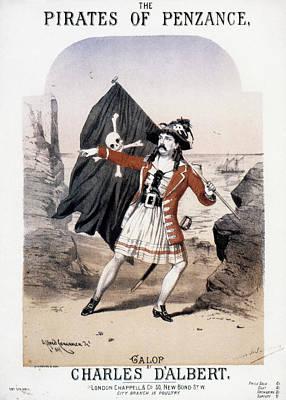 Gilbert & Sullivan, 1880 Poster by Granger