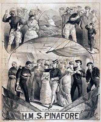 Gilbert & Sullivans Comic Operetta Poster