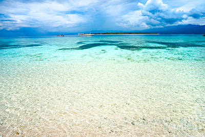 Poster featuring the photograph Gili Meno - Indonesia. by Luciano Mortula