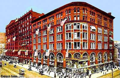 Gimbel Bros. Department Store In Philadelphia Pa 1910 Poster by Dwight Goss