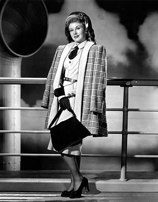 Ginger Rogers, In An Rko Portrait, C Poster