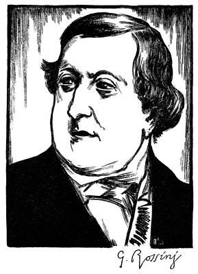 Gioacchino Rossini Poster by Granger