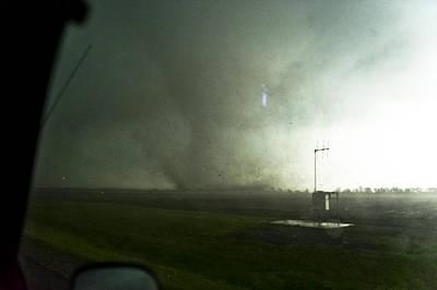 Girard Cone Tornado 4 Poster by Jennifer Brindley