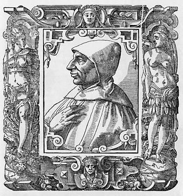 Girolamo Savonarola, Italian Priest Poster by Middle Temple Library
