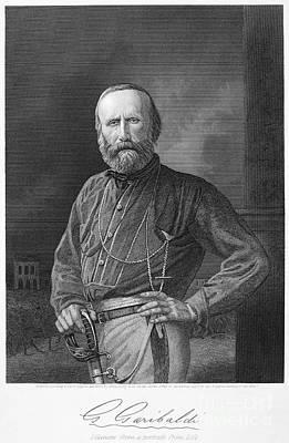 Giuseppe Garibaldi Poster by Granger