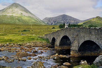 Glamaig And Sligachan Bridge Poster