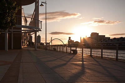 Glasgow Promenade Poster by Tom Gowanlock