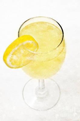 Glass Of Lemonade Poster
