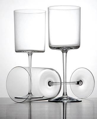 Glass Still Life Poster by Tony Ramos
