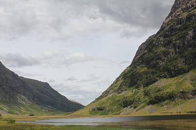 Poster featuring the photograph Glencoe Pass by David Grant