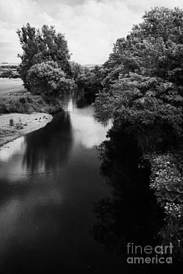 Glenshesk River In The Glenshesk Glen At Ballycastle County Antrim Poster by Joe Fox