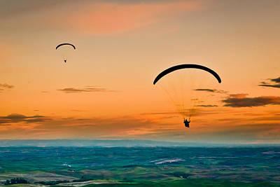 Gliders Poster by Niels Nielsen