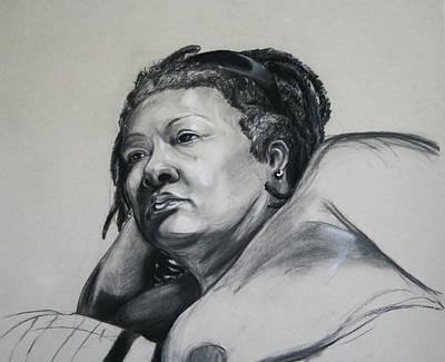 Gloria Portrait Poster by Morgan Banks