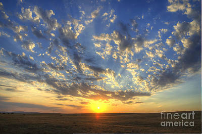 Glorious Sunrise Poster