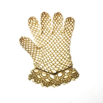 Glove Poster by Bernard Jaubert