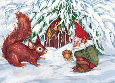 Gnome's Present Poster
