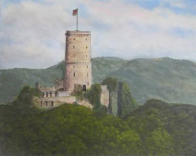 Godesburg Castle Poster by Heather Matthews