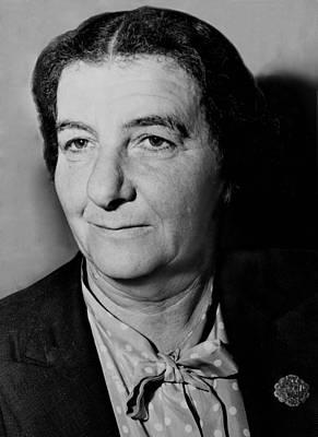 Golda Meir 1898-1978, In 1948 Poster