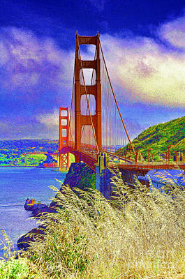 Poster featuring the photograph Golden Gate Bridge - 6 by Mark Madere