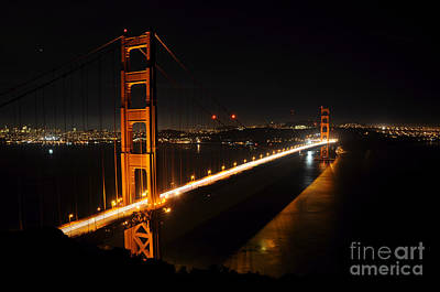 Golden Gate Bridge 2 Poster by Vivian Christopher