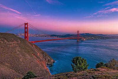 Golden Gate Bridge Poster by Eyal Nahmias