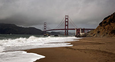 Poster featuring the photograph Golden Gate Bridge by Gary Rose