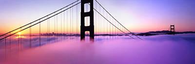 Golden Gate Sunrise Poster