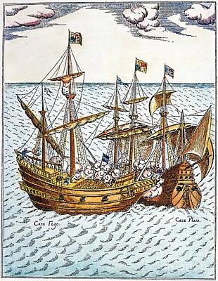 Golden Hind, 1579 Poster