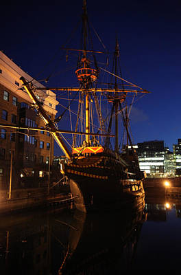 Golden Hinde Poster by Jez C Self
