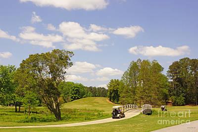 Golf At Calloway Gardens Poster