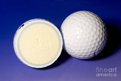 Golf Balls Poster by Ted Kinsman