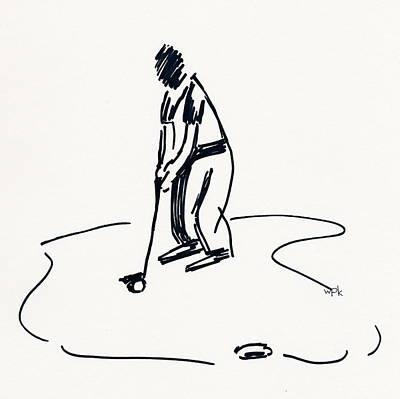 Golf Iv Poster by Winifred Kumpf